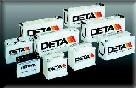 Bateria 90 Amperios DETA - Bateria Sin Mantenimiento 90 Amperios