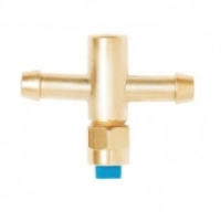 GET LATON CENT. COMPL. ANTIGOTA - Get latón completo central con boquilla, filtro antigoteo y tuerca.