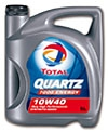 Aceite TOTAL QUARTZ 7000 Energy - 5 litros. TOTAL QUARTZ 7000 ENERGY 10w40