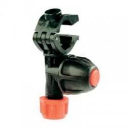 CONJUNTO GET PLAST. ANTIGOTEO - Porta boquillas simple abrazadera con tuerca de bayoneta y filtro. Con Antigoteo.