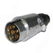 Clavija 12-v (Macho) - Clavija macho de aluminio.