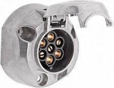 Base 12-v (Hembra) - Clavija macho de aluminio.