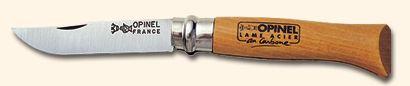 Navaja Opinel Nº7 - Navaja fabricada con Acero Al Carbono
