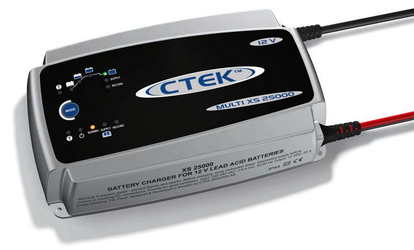 Cargador-Mantenedor  baterias XS25000